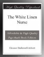 The White Linen Nurse by Eleanor Hallowell Abbott