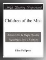 Children of the Mist by Eden Phillpotts