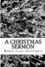 A Christmas Sermon by Robert Louis Stevenson