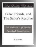 False Friends, and The Sailor's Resolve by