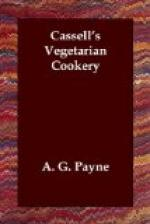 Cassell's Vegetarian Cookery by