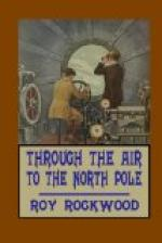 Through the Air to the North Pole by Roy Rockwood