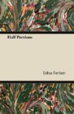 Half Portions by Edna Ferber