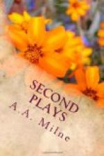 Second Plays by A. A. Milne