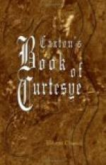 Caxton's Book of Curtesye by