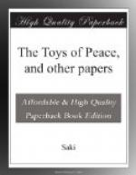 The Toys of Peace, and other papers by Saki