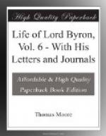 Life of Lord Byron, Vol. 6 (of 6) by Thomas Moore