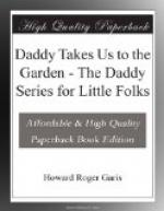 Daddy Takes Us to the Garden by Howard Roger Garis