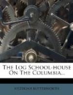 The Log School-House on the Columbia by
