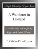 A Wanderer in Holland by E. V. Lucas