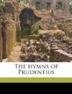 The Hymns of Prudentius by Prudentius