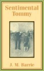 Sentimental Tommy by J. M. Barrie