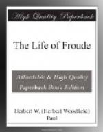 The Life of Froude by