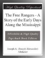The Free Rangers by Joseph Alexander Altsheler