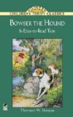 Bowser the Hound by Thornton Burgess