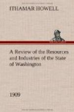 A Review of the Resources and Industries of the State of Washington, 1909 by