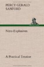 Nitro-Explosives: A Practical Treatise by