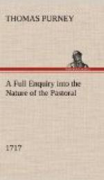 A Full Enquiry into the Nature of the Pastoral (1717) by