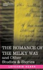 The Romance of the Milky Way by Lafcadio Hearn