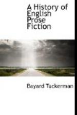 A History of English Prose Fiction by