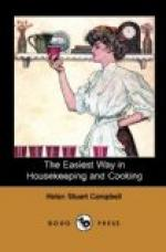 The Easiest Way in Housekeeping and Cooking by Helen Stuart Campbell