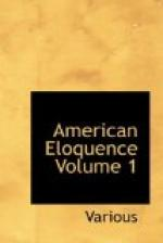 American Eloquence, Volume 1 by