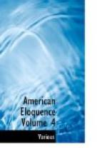 American Eloquence, Volume 4 by