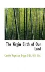 The Virgin-Birth of Our Lord by