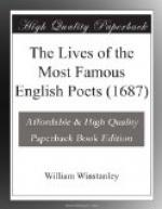 The Lives of the Most Famous English Poets (1687) by
