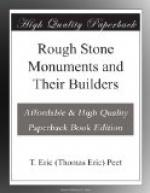 Rough Stone Monuments and Their Builders by