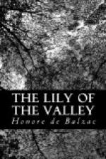 The Lily of the Valley by Honoré de Balzac