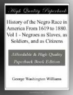 History of the Negro Race in America From 1619 to 1880. Vol 1 by