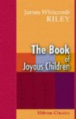 The Book of Joyous Children by James Whitcomb Riley