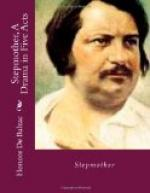 The Stepmother, A Drama in Five Acts by Honoré de Balzac