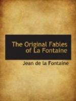 The Original Fables of La Fontaine by Jean de La Fontaine