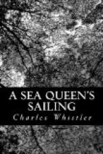 A Sea Queen's Sailing by Charles Whistler