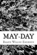 May-Day by Ralph Waldo Emerson