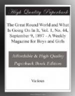 The Great Round World and What Is Going On In It, Vol. 1, No. 44, September 9, 1897 by