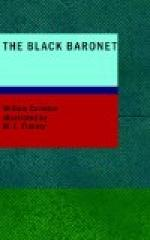 The Black Baronet; or, The Chronicles Of Ballytrain by William Carleton