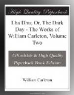 Lha Dhu; Or, The Dark Day by William Carleton