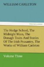 The Hedge School; The Midnight Mass; The Donagh by William Carleton