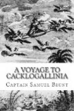 A Voyage to Cacklogallinia by