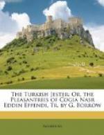 The Turkish Jester by Nasreddin