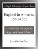 England in America, 1580-1652 by Lyon Gardiner Tyler