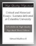 Critical & Historical Essays by Edward MacDowell