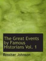The Great Events by Famous Historians, Vol. 1 by