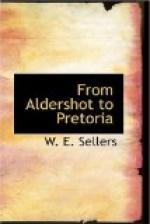 From Aldershot to Pretoria by