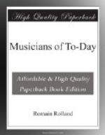 Musicians of To-Day by Romain Rolland