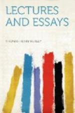 Lectures and Essays by Thomas Huxley