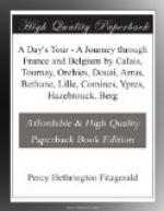 A Day's Tour by Percy Hethrington Fitzgerald